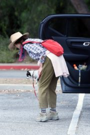 Andie MacDowell Out Hiking with Her Dogs in Los Angeles 2020/06/11 9