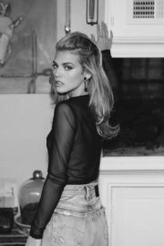 AnnaLynne McCord at a Black and White Photoshoot 2020/05/03 4