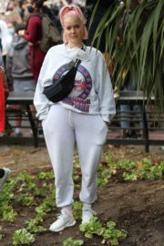Anne-Marie at Black Lives Matter Protest in London 2020/06/03 5