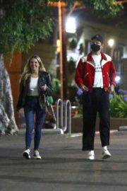 Ashley Benson and G-Eazy Out for Dinner in Los Feliz 2020/06/20 12