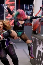 Asuka vs. Nia Jax at WWE Raw Women's Championship Match 2020/06/15 2