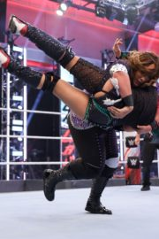Asuka vs. Nia Jax at WWE Raw Women's Championship Match 2020/06/15 10