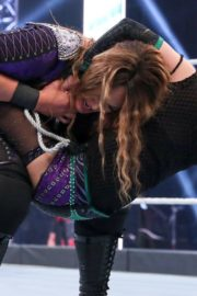 Asuka vs. Nia Jax at WWE Raw Women's Championship Match 2020/06/15 12