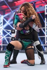 Asuka vs. Nia Jax at WWE Raw Women's Championship Match 2020/06/15 13