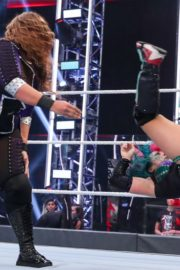 Asuka vs. Nia Jax at WWE Raw Women's Championship Match 2020/06/15 15
