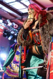 Asuka vs. Nia Jax at WWE Raw Women's Championship Match 2020/06/15 20