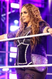 Asuka vs. Nia Jax at WWE Raw Women's Championship Match 2020/06/15 21