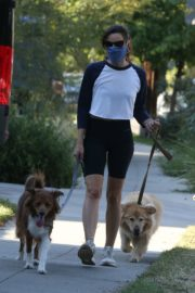 Aubrey Plaza Out with Her Dogs in Los Feliz 2020/06/11 5