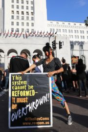 Bai Ling at George Floyd During Black Lives Matter Protest in Los Angeles 2020/06/04 2