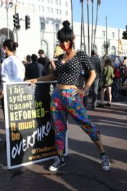Bai Ling at George Floyd During Black Lives Matter Protest in Los Angeles 2020/06/04 4