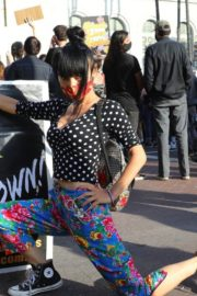 Bai Ling at George Floyd During Black Lives Matter Protest in Los Angeles 2020/06/04 5