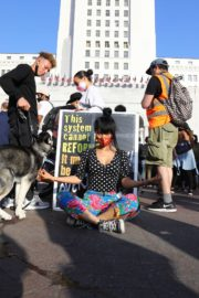 Bai Ling at George Floyd During Black Lives Matter Protest in Los Angeles 2020/06/04 6
