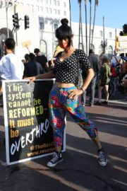 Bai Ling at George Floyd During Black Lives Matter Protest in Los Angeles 2020/06/04 8