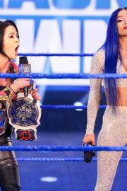 Bayley, Sasha Banks, Alexa Bliss and Nikki Cross at WWE Smackdown in Orlando 2020/06/12 8