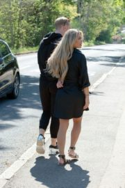 Bianca Gascoigne and Kris Boyson Out in Gravesend 2020/06/15 4
