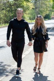 Bianca Gascoigne and Kris Boyson Out in Gravesend 2020/06/15 7