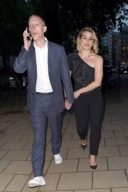 Billie Piper and Laurence Fox Arrives at Glamour Awards in London 2020/06/08 2