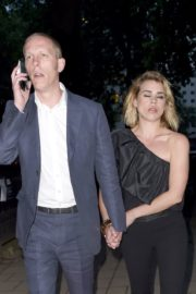 Billie Piper and Laurence Fox Arrives at Glamour Awards in London 2020/06/08 3