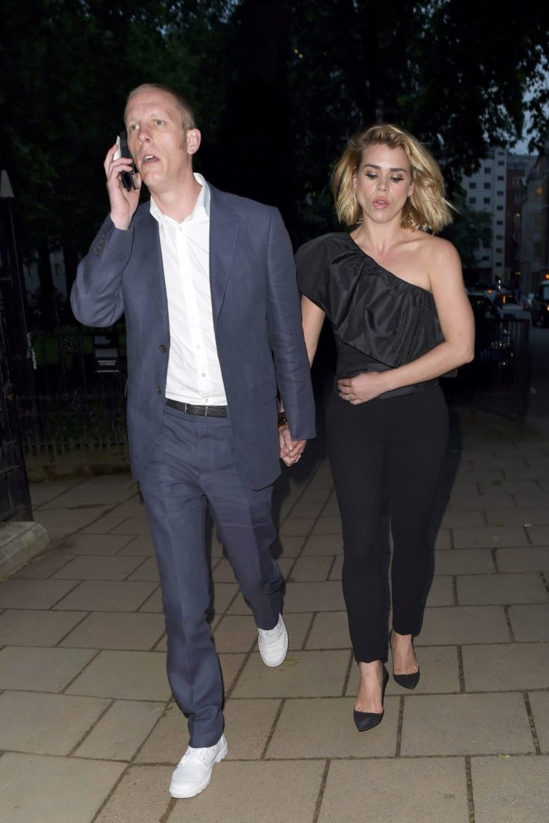 Billie Piper and Laurence Fox Arrives at Glamour Awards in London 2020/06/08 4