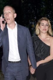 Billie Piper and Laurence Fox Arrives at Glamour Awards in London 2020/06/08 10