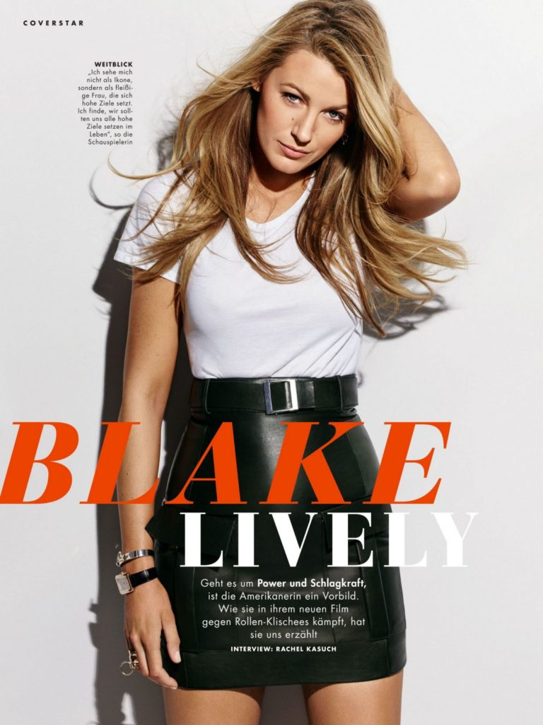 Blake Lively in Cosmopolitan Magazine, Germany July 2020 2