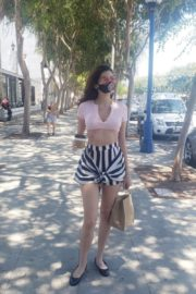 Blanca Blanco Out for Lunch to-go in West Hollywood 2020/06/11 6