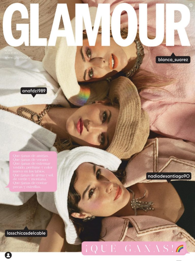 Blanca Suarez, Ana Fernandez Garcia and Nadia de Santiago in Glamour Magazine, Spain July 2020 22