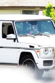 Britney Spears Driving Out in Thousand Oaks 2020/06/19 3