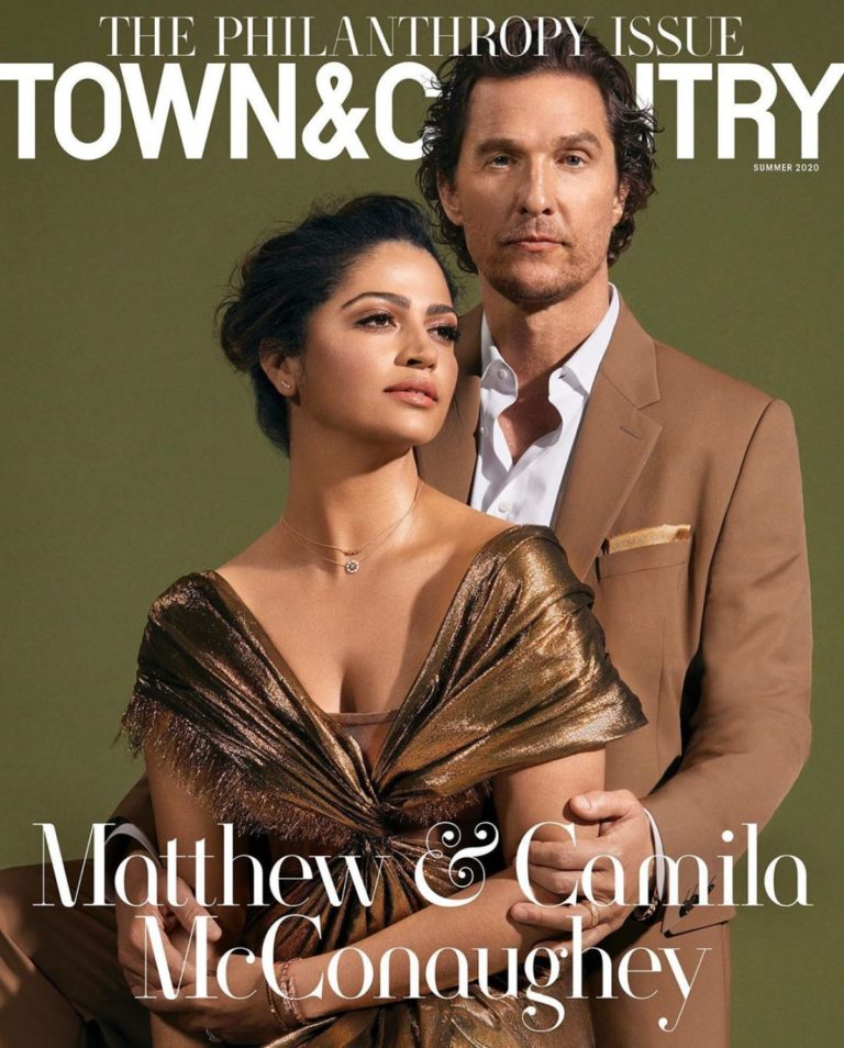 Camila Alves on the Cover of Town and Country Magazine, Summer 2020 1