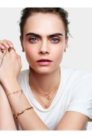 Cara Delevingne for Rose de Vents Jewelry Collection Campaign for Dior 2020 2