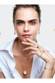 Cara Delevingne for Rose de Vents Jewelry Collection Campaign for Dior 2020 3