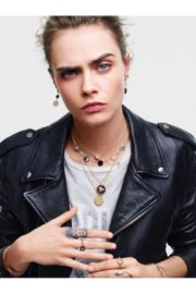 Cara Delevingne for Rose de Vents Jewelry Collection Campaign for Dior 2020 4