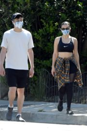 Charli XCX and Huck Kwong Wearing Masks Out in Los Angeles 2020/06/04 3