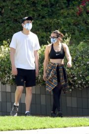Charli XCX and Huck Kwong Wearing Masks Out in Los Angeles 2020/06/04 8