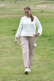 Chloe Ross Out with her Dog in Chigwell 2020/06/06 6