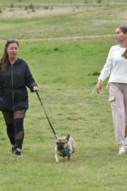 Chloe Ross Out with her Dog in Chigwell 2020/06/06 8