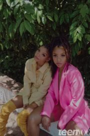 Chloe X Halle Bailey in Teen Vogue Magazine, June 2020 2