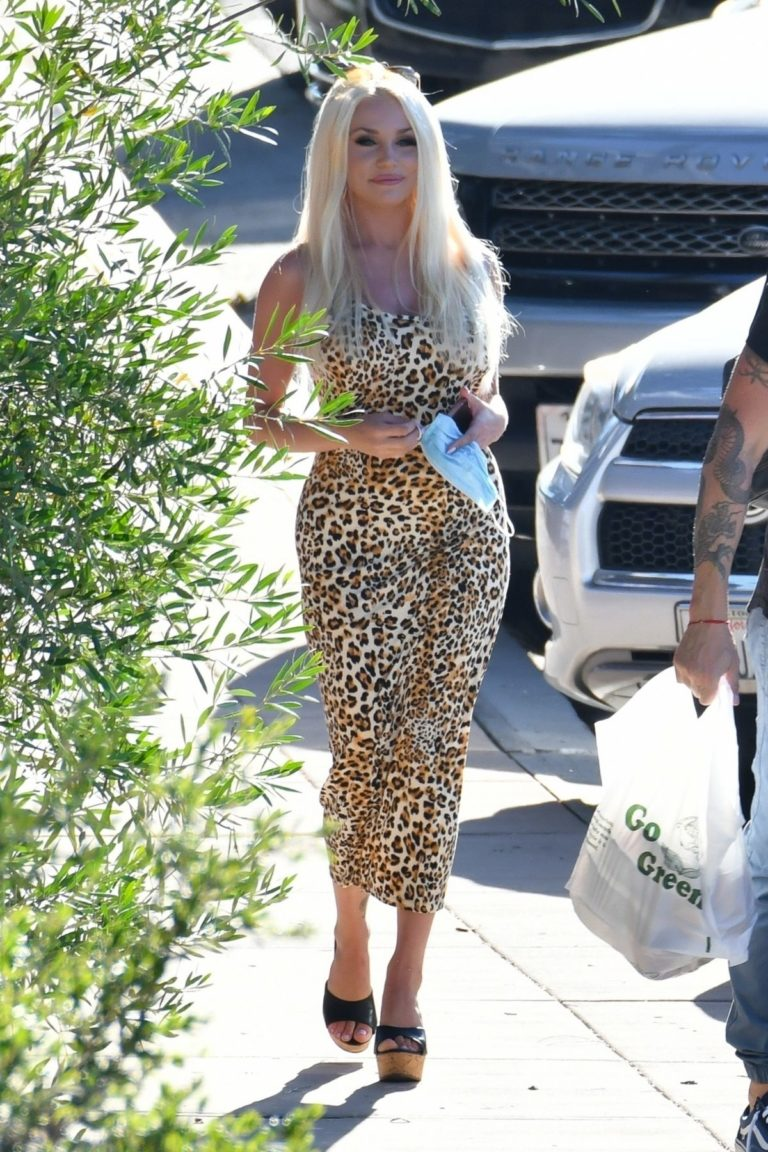 Courtney Stodden and Brian Austin Green Out for Lunch in Los Angeles 2020/06/13 9