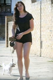 Daisy Lowe Out with Her Dog in London 2020/06/02 3