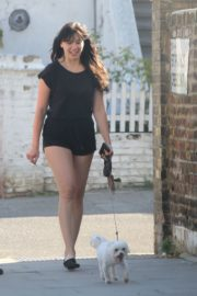 Daisy Lowe Out with Her Dog in London 2020/06/02 12