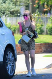Dakota Fanning Out Shopping in Los Angeles 2020/06/19 11