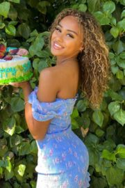 Daniella Perkins at Her Birthday Party Photos Shared in Instagram 2020/06/13 2