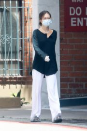 Delilah Belle Hamlin Wearing a Mask Out in Beverly Hills 2020/06/01 5