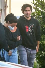 Demi Lovato and Max Ehrich at Nobu in Malibu 2020/06/09 4