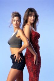 Denise Richards and Sophie Marceau Photoshoot The World Is Not Enough Promos, 1999 4