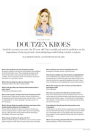 Doutzen Kroes in Wall Street Journal Magazine, June/July 2020 15