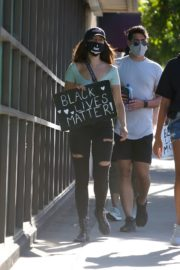 Eiza Gonzalez at a Protest in West Hollywood 2020/06/09 3
