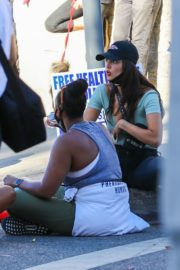 Eiza Gonzalez at a Protest in West Hollywood 2020/06/09 8