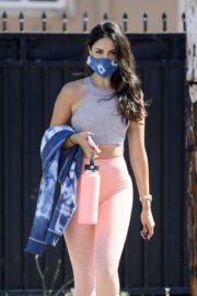 Eiza Gonzalez in Light Pink Tights Out in Los Angeles 2020/05/31 5