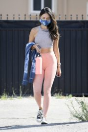Eiza Gonzalez in Light Pink Tights Out in Los Angeles 2020/05/31 9